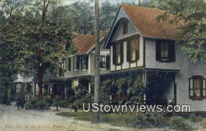 West Ave in the Grove - Pitman, New Jersey NJ Postcard