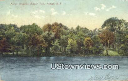 Picnic Grounds, Altyon Park - Pitman, New Jersey NJ Postcard