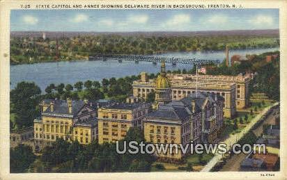 State Capitol, Annex - Trenton, New Jersey NJ Postcard