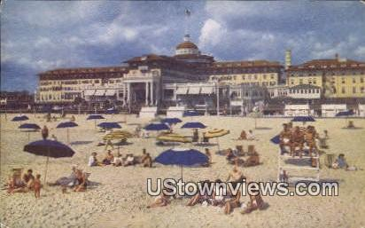 The Monmouth - Spring Lake Beach, New Jersey NJ Postcard