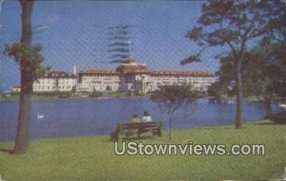 The Monmouth - Spring Lake Beach, New Jersey NJ Postcard