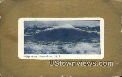 The Wave - Ocean Grove, New Jersey NJ Postcard