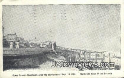 Hurrican Sept 14, 1944 - Ocean Grove, New Jersey NJ Postcard