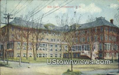 Oak Court - Lakewood, New Jersey NJ Postcard