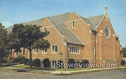 St Paul's Methodist Church - Ocean Grove, New Jersey NJ Postcard