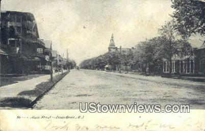 Main Street - Ocean Grove, New Jersey NJ Postcard
