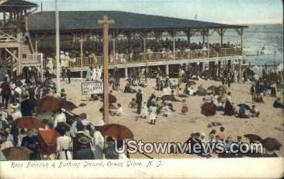 Ross Pavilion & Bathing Ground - Ocean Grove, New Jersey NJ Postcard