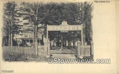 IOOF Home - Trenton, New Jersey NJ Postcard