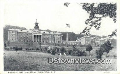 Mount St Mary's Academy - Plainfield, New Jersey NJ Postcard