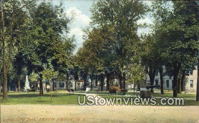 The Park - Perth Amboy, New Jersey NJ Postcard