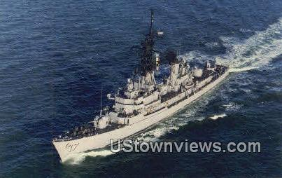 Guided Missile Destroyer - Camden, New Jersey NJ Postcard