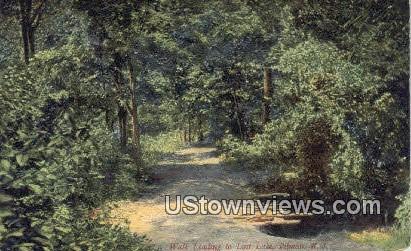 Walk Leading, Lost Lake - Pitman, New Jersey NJ Postcard