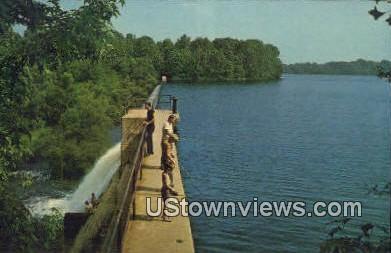 Farrington Lake - New Brunswick, New Jersey NJ Postcard