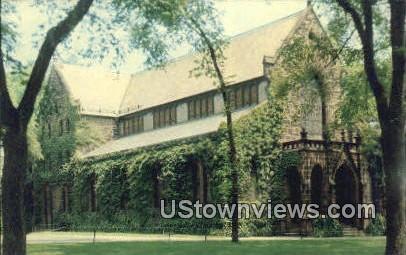 Kirkpatrick Chapel, Rutgers Unviersity - New Brunswick, New Jersey NJ Postcard