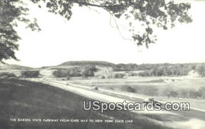 Garden State Parkway - Cape May, New Jersey NJ Postcard