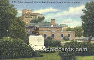 Palmer Memorial - Princeton, New Jersey NJ Postcard