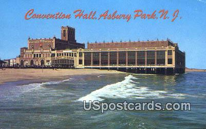 Boardwalk Theatre - Asbury Park, New Jersey NJ Postcard