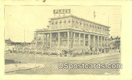 Plaza Grill - Misc, New Jersey NJ Postcard
