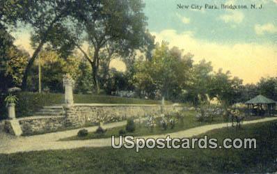 New City Park - Bridgeton, New Jersey NJ Postcard