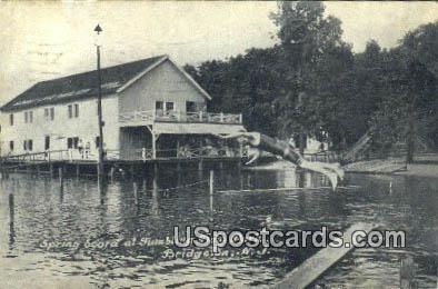Tumbling Dam Park - Bridgeton, New Jersey NJ Postcard