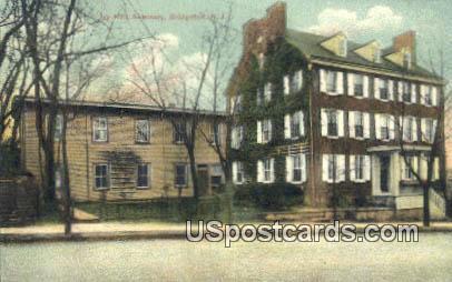 Ivy Hall Seminary - Bridgeton, New Jersey NJ Postcard