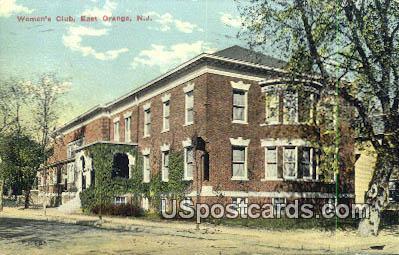 Women's Club - East Orange, New Jersey NJ Postcard
