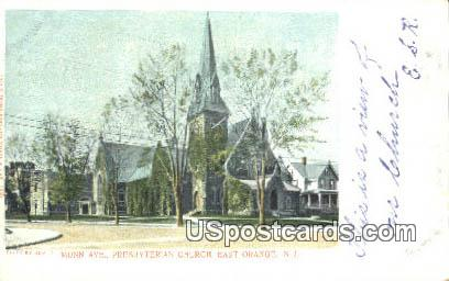 Presbyterian Church - East Orange, New Jersey NJ Postcard