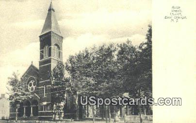 Brick Presbyterian Church - East Orange, New Jersey NJ Postcard