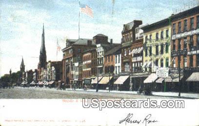 Broad & William Streets - Newark, New Jersey NJ Postcard