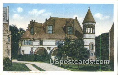 Alexander Hall - Princeton, New Jersey NJ Postcard