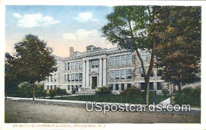 Princeton Grammar School - New Jersey NJ Postcard