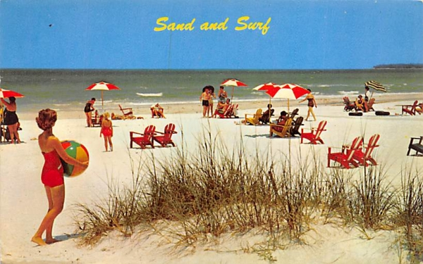 Sand and Surf Stone Harbor, New Jersey Postcard