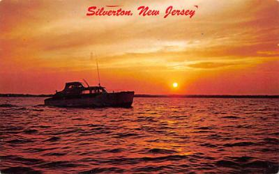 A cruiser heading for home Silverton, New Jersey Postcard
