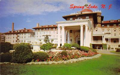 The Monmouth Hotel Spring Lake, New Jersey Postcard