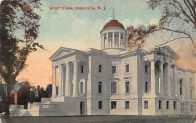Court House  Somerville, New Jersey Postcard