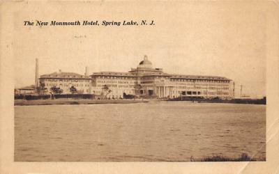 The New Monmout Hotel Spring Lake, New Jersey Postcard