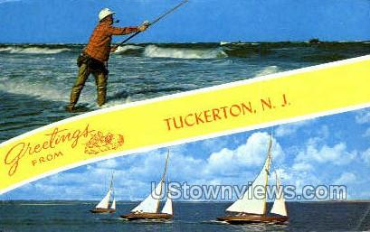 Greetings From - Tuckerton, New Jersey NJ Postcard