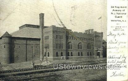 2nd Regiment Armory - Trenton, New Jersey NJ Postcard