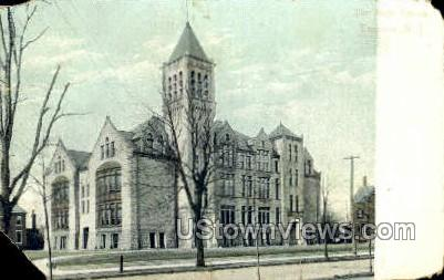 High School  - Trenton, New Jersey NJ Postcard