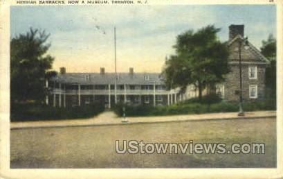 Barracks - Trenton, New Jersey NJ Postcard