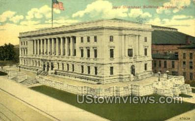 New Municipal Building - Trenton, New Jersey NJ Postcard