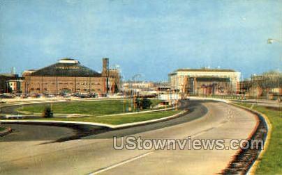 Trenton Speedway - New Jersey NJ Postcard