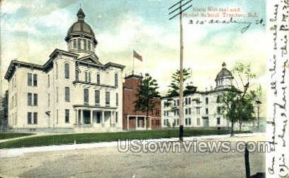 State Normal School - Trenton, New Jersey NJ Postcard