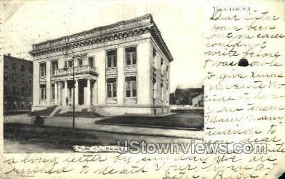 Public Library  - Trenton, New Jersey NJ Postcard