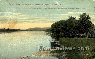 Washingtons Crossing - Trenton, New Jersey NJ Postcard
