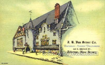 Jb Ban Striver Company  - Trenton, New Jersey NJ Postcard