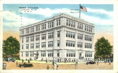 Rider College - Trenton, New Jersey NJ Postcard