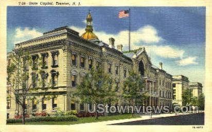 State Capitol - Trenton, New Jersey NJ Postcard