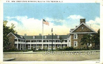 State Barracks - Trenton, New Jersey NJ Postcard