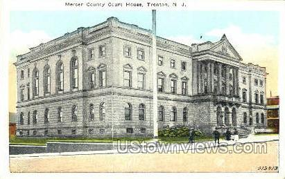 Mercer County Court House - Trenton, New Jersey NJ Postcard